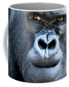 Gorilla In The Mist Wall Art Coffee Mug by David Millenheft