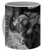 Gorilla Pose Coffee Mug