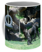 Gorillas Mary Joe Baby And Emonty Mother 7 Coffee Mug