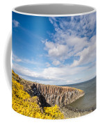 Gorse At Cullernose Point Coffee Mug