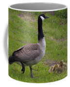 Goslings With Mother Goose Coffee Mug