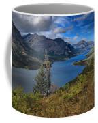 Goat Haunt Pine Tree Panorama Coffee Mug