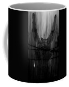 Gothic Guardian Bw Coffee Mug