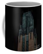 Gothic Night. Architecture Of Los Angeles Coffee Mug