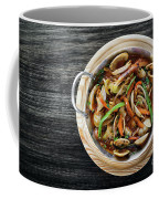 Gourmet Clam And Vegetable Seafood Stew In Spicy Tomato Sauce Coffee Mug