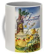Gourmet Cover Featuring A Bowl And Glasses Coffee Mug