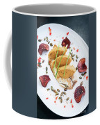 Gourmet Fish Fillet With Chickpea Curry Puree Meal Coffee Mug