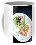Gourmet Raw Tuna Tartare Ceviche With Mango Lime And Chilli Coffee Mug