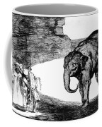Goya: Elephant, C1820 Coffee Mug
