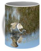 Graceful Great Egret Coffee Mug
