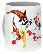 Graceful Koi Coffee Mug