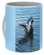 Graceful Muscovy Duck Coffee Mug