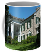 Graceland Home Of Elvis Presley, Memphis, Tennesseen Coffee Mug