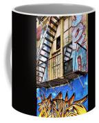Graffiti Fire Coffee Mug