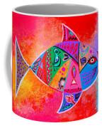 Graffiti Fish Coffee Mug