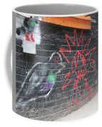 Graffiti Pigeon Coffee Mug
