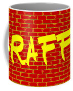 Graffiti Red Wall Coffee Mug