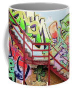 Graffiti Steps Coffee Mug