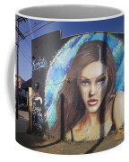 Graffiti Street Art Mural Around Melrose Avenue In Los Angeles, California  Coffee Mug