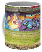 Graffiti Under A Bridge Coffee Mug