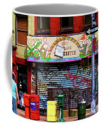 Graffiti Village Store Nyc Greenwich  Coffee Mug