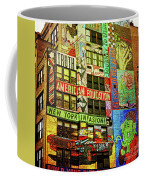 Graffitti On New York City Building Coffee Mug