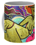 Grafitti Curves Coffee Mug