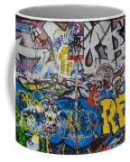 Grafitti On The U2 Wall, Windmill Lane Coffee Mug