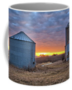 Grain Bin Sunset 2 Coffee Mug
