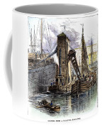 Grain Elevator, 1877 Coffee Mug