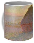 Grainstack, Sunset Coffee Mug