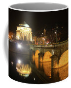 Gran Madre Church By Night In Turin, Italy Coffee Mug