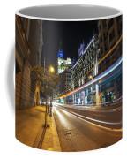Gran Via Light Trails 1.0 Coffee Mug