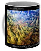 Grand Canyon Aerial View Coffee Mug