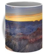 Shimmering Warmth In Panoramic Coffee Mug