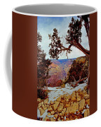 Grand Canyon National Park - Winter On South Rim Coffee Mug