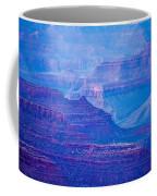 Grand Canyon Sunny Day With Blue Sky Coffee Mug