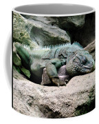 Grand Cayman Blue Iguana Coffee Mug