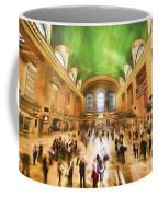 Grand Central Rush     Go2 Coffee Mug
