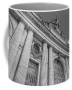 Grand Central Terminal - Chrysler Building Bw Coffee Mug