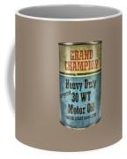 Grand Champion Motor Oil Coffee Mug