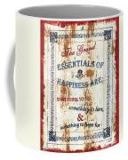 Grand Essentials Of Happiness Coffee Mug