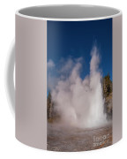 Grand Geyser Eruption Three Coffee Mug