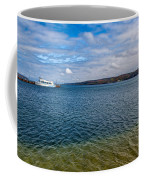 Grand Harbor On Lake Superior Coffee Mug