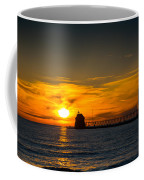 Grand Haven Sunset Coffee Mug
