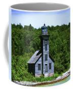 Grand Island Lighthouse Coffee Mug by Sally Sperry