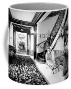 Grand Island Mansion Mosher Ranch 7 B And W Coffee Mug