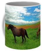 Grand-pre Horses Coffee Mug