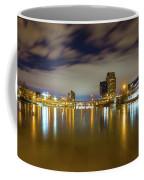Grand Rapids At Night Coffee Mug