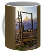 Grand Teton Framed Coffee Mug